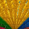 Colorful lanterns at Seokguram Grotto, South Korea - 2014