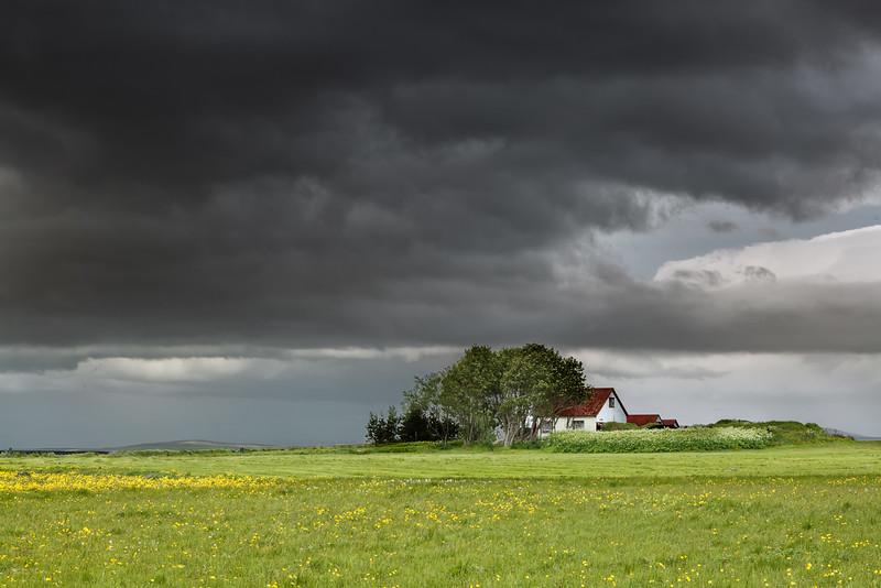 Farmhouse, Seljanlandsfoss