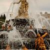 The Latona fountain at Château de Versailles