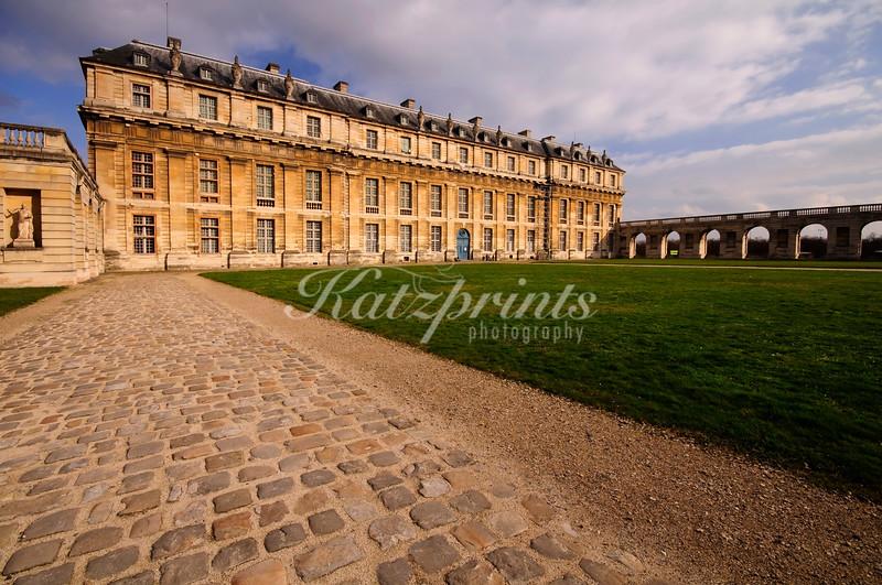 The Queen's pavilion or Pavillon de la Reine at the Château de Vincennes