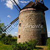 Old tower windmill