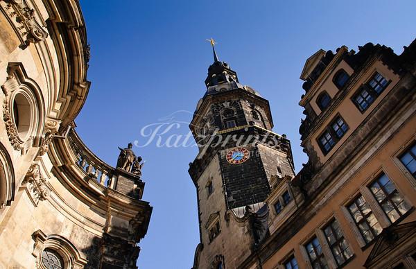 The Hausmannsturm of the Residenzschloss Dresden