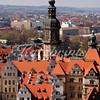 The Hausmannsturm of the Residenzschloss Dresden as seen from the top of the Frauenkirche