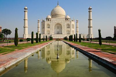 NIK2150: De betoverende en prachtige Taj Mahal..... het ultieme symbool van de liefde...!