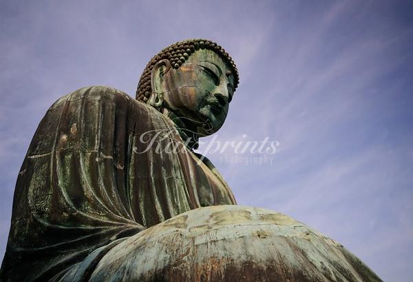 The Great Buddha of Kamakura at the Kōtoku-in temple