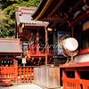 Detail of the Tsurugaoka Hachiman-gū shrine complex