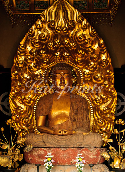 Amida buddha at Hase-dera temple in Kamakura