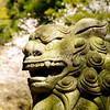 Stone sculpture at the Kenchō-ji in Kamakura