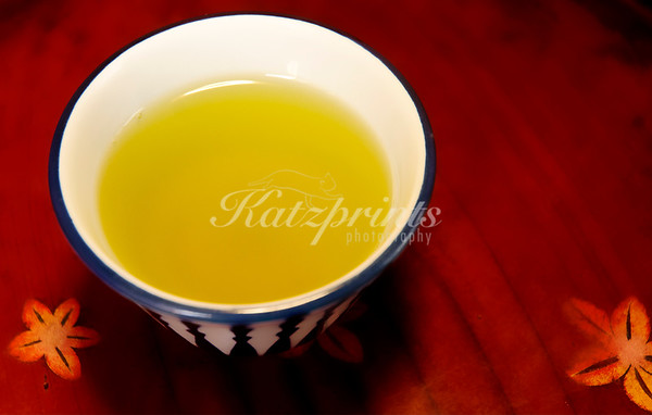 Tea is served