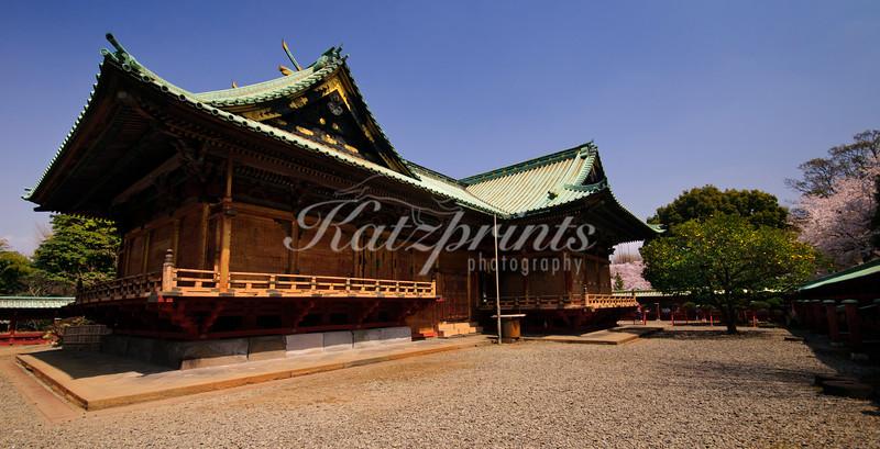 The backside of Ueno Tōshō-gū shrine in Tokyo