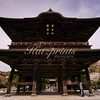 """The Sanmon gate of Kenchō-ji temple, the first ranking of Kamakura's """"five great"""" Zen temples"""