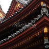 Roof detail at Hase-dera temple in Kamakura