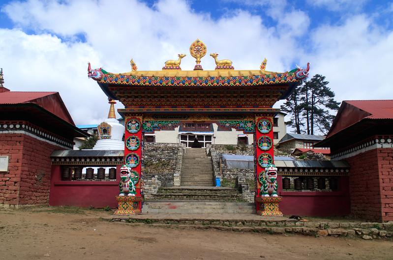 The highest monastery in the Everest Region in Tengboche