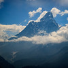 Ama Dablam from the Hillary Lookout in Khunde