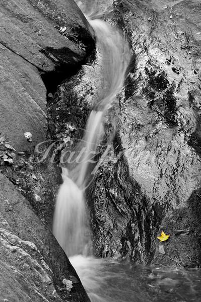 Detail of Hamilton Falls, Vermont