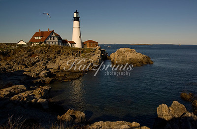 Portland Head Light in Cape Elizabeth