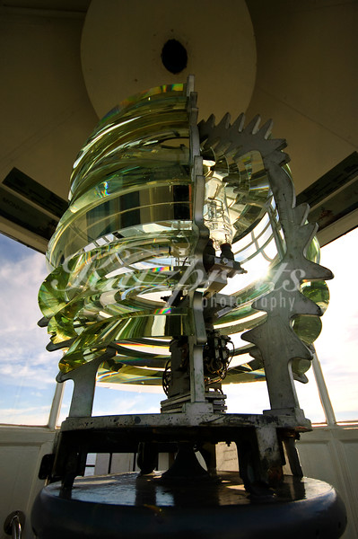 Fresnel lens of the Pemaquid Point