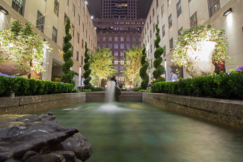 Rockefeller Fountains