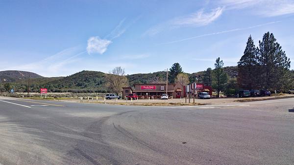Day 7 - Nance Canyon - Mile 140.2 to Paradise Valley Café - Mile 151.9 (11.7 trail miles)  Paradise Valley Café.