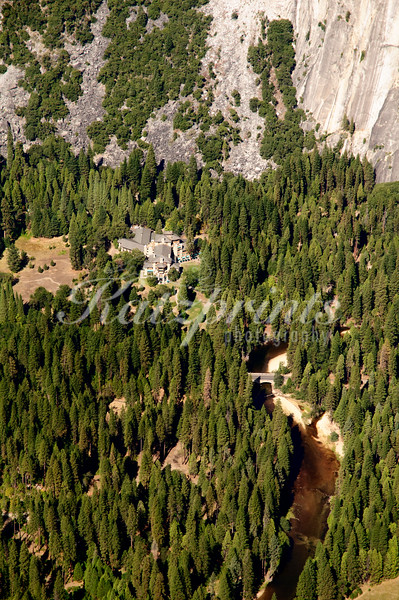 Ahwahnee Birds-eye view