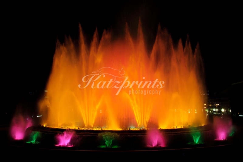 "Carles Buigas' ""Font màgica de Montjuïc"" (magic fountain) in Barcelona, Spain"