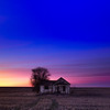 Abandoned Farmhouse, before sunrise December 2018