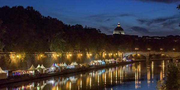 Trastevere on The Tiber