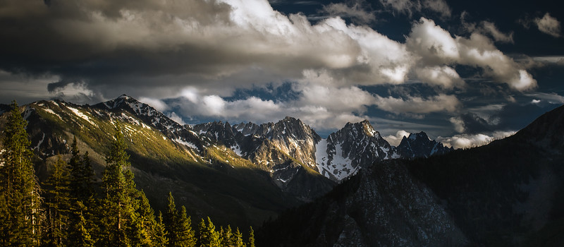 Colchuck, Dragontail, and the Enchantment peaks