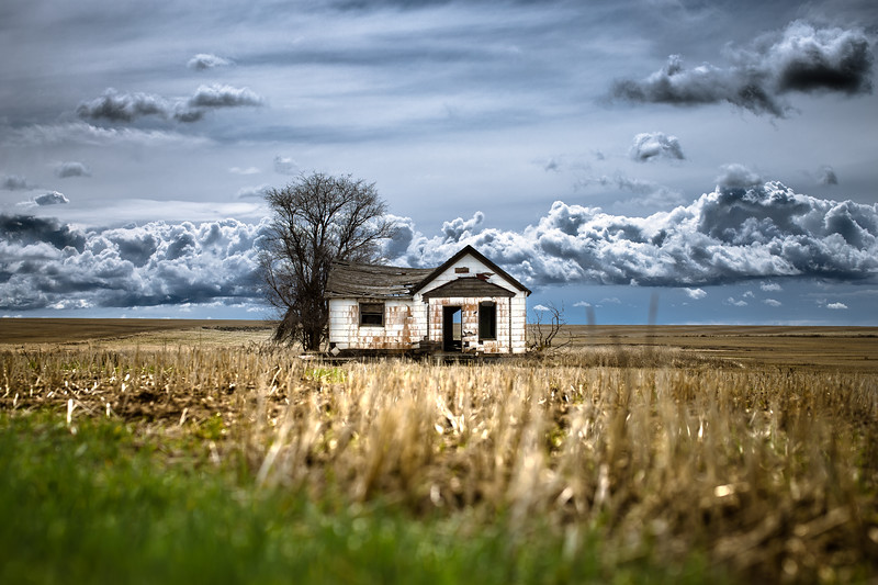 Abandoned Farmhouse, Spring 2019