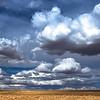 northern sky over Moses Lake
