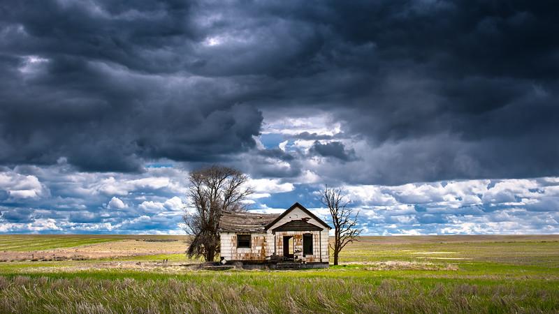 Abandoned Farmhouse, Spring 2017