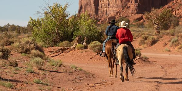 Navajo Horsemen