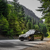 Saab resting along Hwy 2 near Leavenworth WA