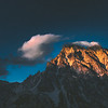 Mt. Stuart sunset