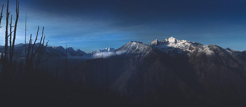 Cashmere Peak at sunrise