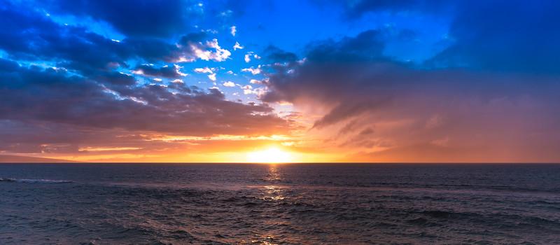Maui Sunset, July 31st 2017
