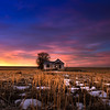 Abandoned Farmhouse, January Sunrise 2019