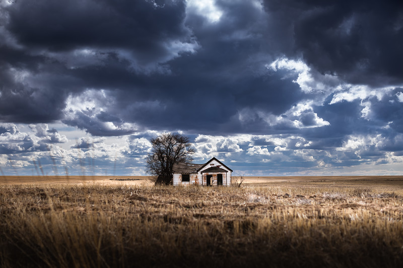 Abandoned Farmhouse, almost spring, 2021