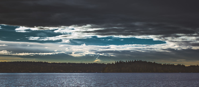 Rainier from Lake Washington