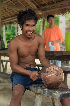 Linapacan Island Base Camp