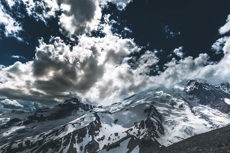 Mt. Rainier from second Burroughs