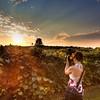 Vineyard Photographer at Sunset