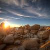 Sunset at Tahoe Cliffside