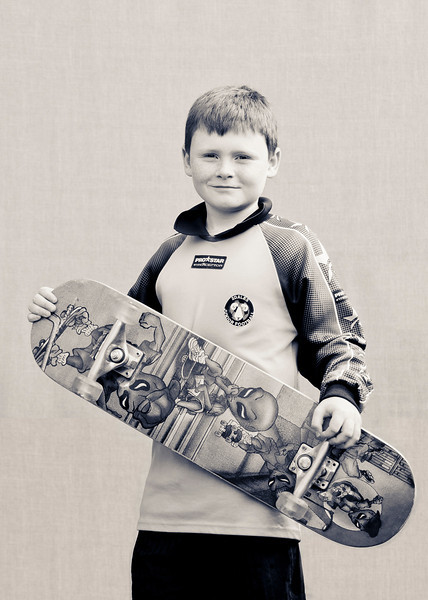 Oliver <br /> <br /> I chose my skateboard because I could not find my football!