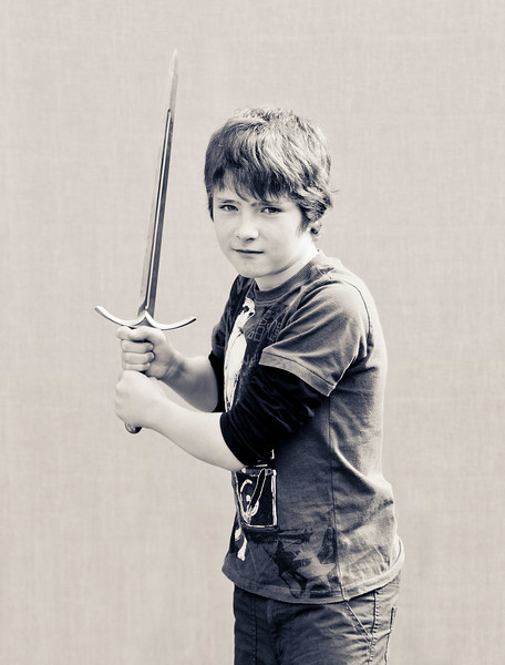 Samuel<br /> <br /> My Grandad bought me this Gandalf the great sword the first time I went to York it has lots of memory in it.