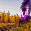 Steam Train in Fall