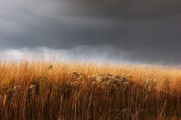 Autumn Prairie Storm