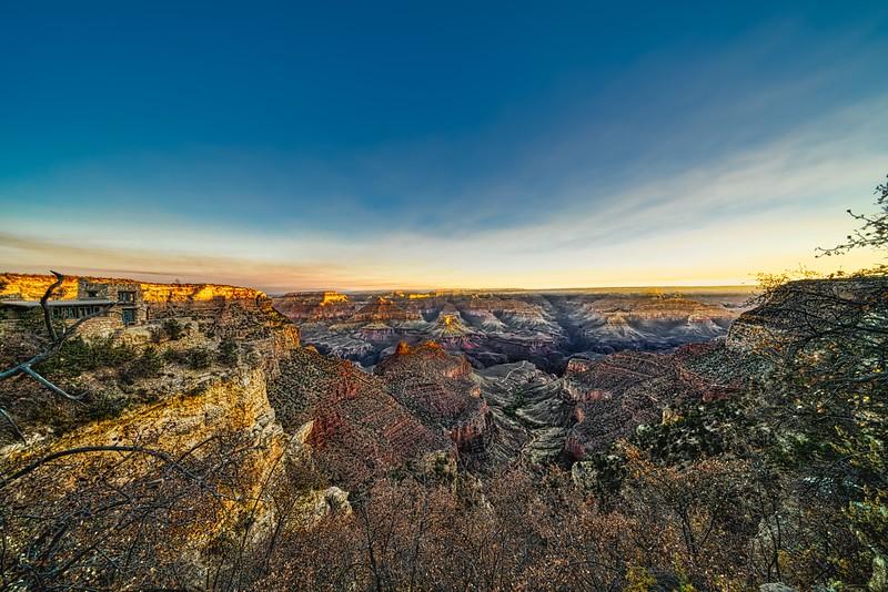 Canyon Morning Colors