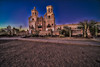 Mission San Xavier Del Bac at Blue Hour