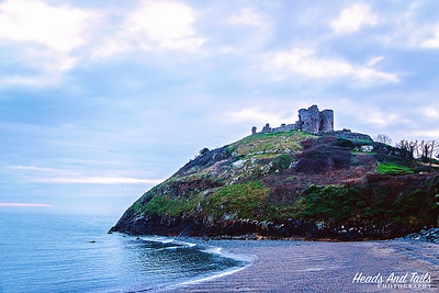 Criccieth Castle, Wales, United Kingdom